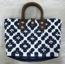 Most popular pp plastic straw bag with PU handles, Pp woven beach tote bag, Handmade woven pp plastic shopping handbag