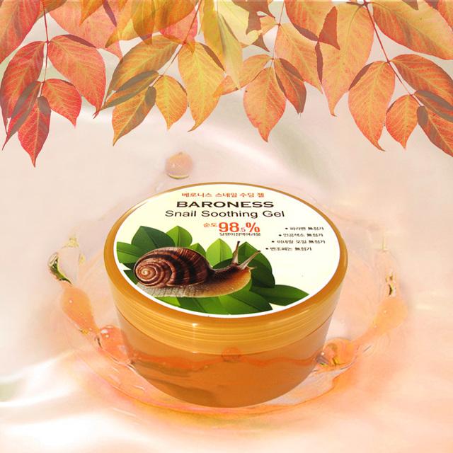 Korea Cosmetics Snail Soothing Gel