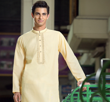 Mens Cotton Kurtas / Indian Occasion Wear Cotton Kurtas From Jaipur India
