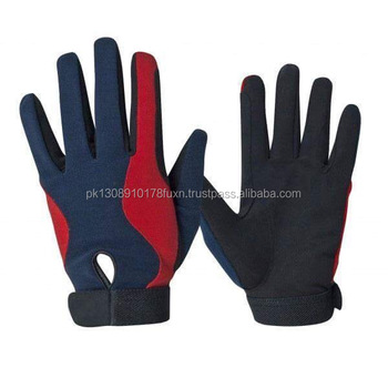 Horse Riding Gloves Synthetic Leather Horse riding gloves Equestrian