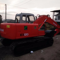 USED HITA CHI EX120 EXCAVATOR FOR SALE