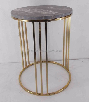 Modern Style Round Shape Coffe Table/Side Table along with the Marble