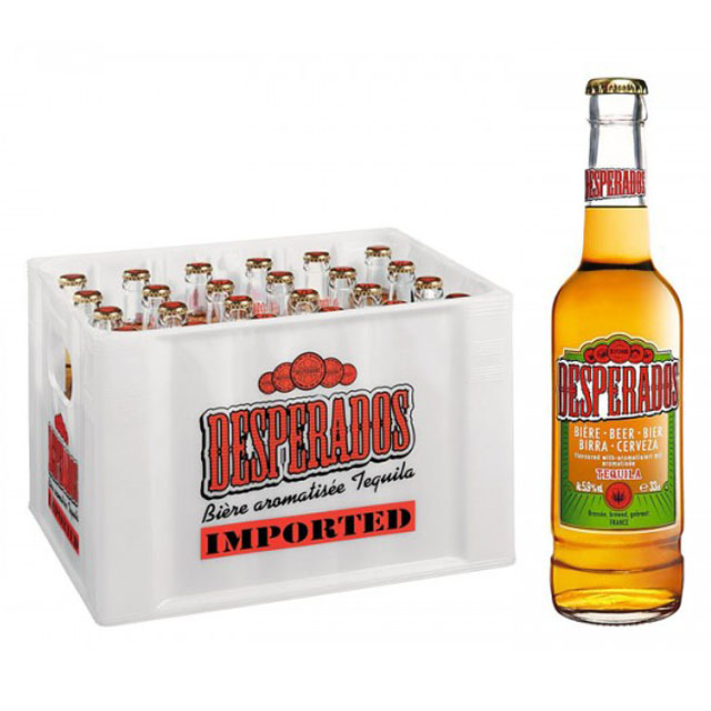 Desperados Beer 50cl cans,non-alcoholic beer Beverage Desperadoes beer