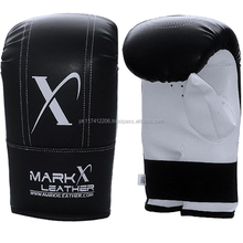 Kick Boxing Bag Mitts Punching Sparring Training Mitts MARK X LEATHER
