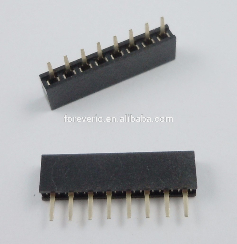 2mm Pitch 8 Pin Female Single Row Straight Pin Header Strip PH:4.3MM