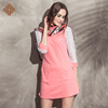 New Long Lace Sleeve Ladies Dress For Woman