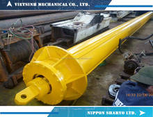 VIETSINH - NIPPON SHARYO rotary drilling kelly bar, interlocking kelly bar