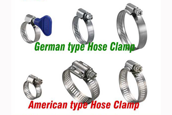 Diesel engine fuel pump stainless steel american clamp