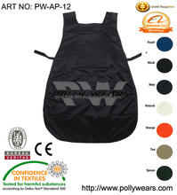 Polyester or Cotton cooking apron/kitchen apron custom logo printing