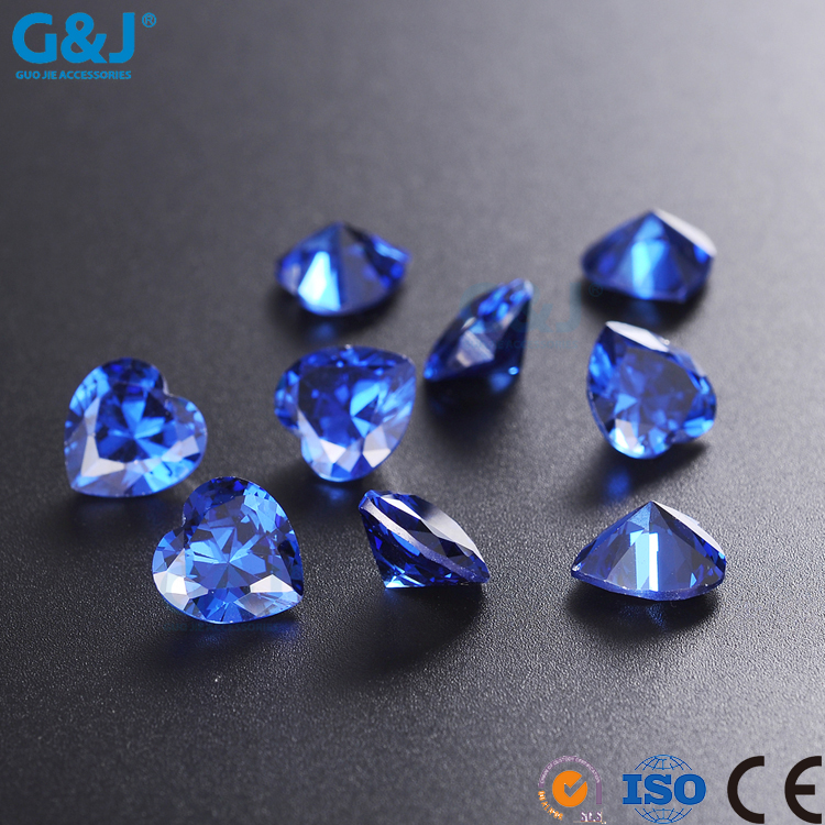 guojie brand Wholesale DIY Heart Shape GuoJie Trimming Factory rhinestone