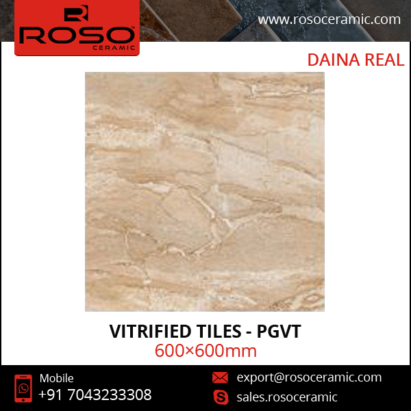 Ceramic Floor/ Wall Vitrified Tile for Sale at Export Price