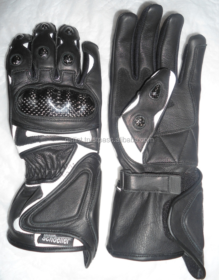 Street Motorcycle Riding Gloves Stealth Mens All Sizes