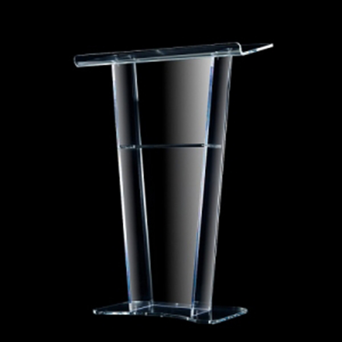 clear Acrylic Lectern,Perspex Podium,Pmma Speaker Stand Acrylic Podium