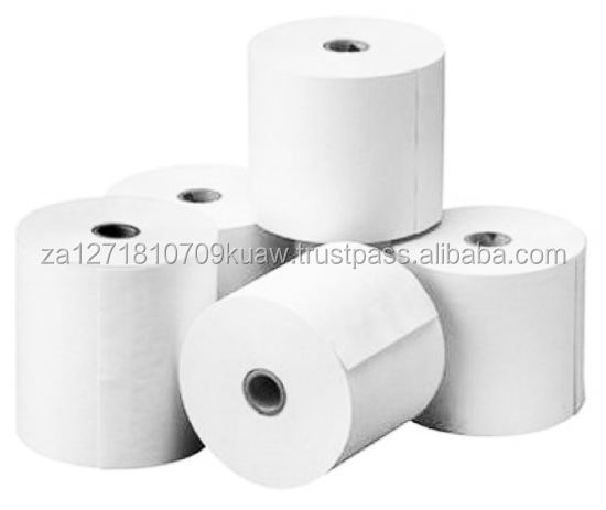 THERMAL TILL ROLL PAPER 57x40/ White Paper Thermal 102mm X 51mm 600 Labels roll