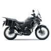 Motorcycle Kawasakx Versys X300 Gray-Green Colour Racing Bike motorcycle sport bike on road