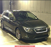 2012 Gray Used Subaru Impreza EYE site Used Car Leading Car Exporter Lead Solution Japan