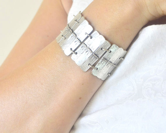 turkish boho silver bracelet fashion