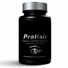 Pro Hair Health Food Supplements Vitamins Minerals Round Premium Bottle - Labelling Available - Wholesale Diet Supplements