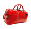red leather bags for travel / cheap promotional duffel bags with customized logo / top quality mens travel bags