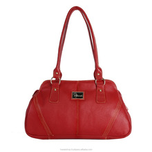 Red Real Leather Women Shoulder Bag Hand Bag for multi purpose