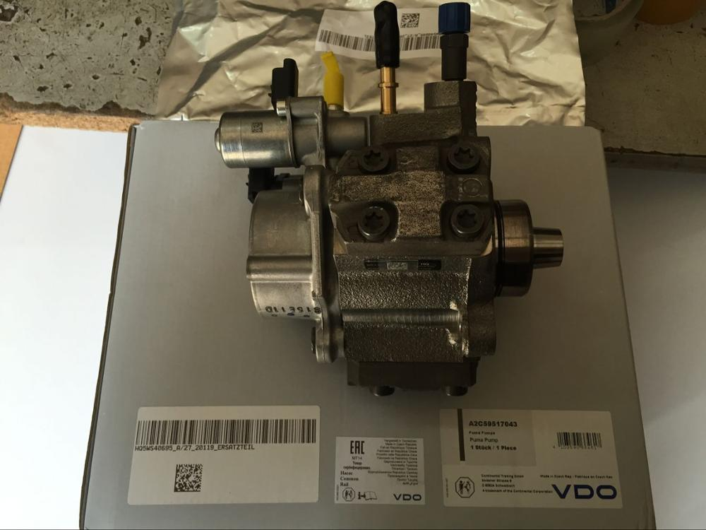 A2C59517043/FB3Q9B395BA for genuine part high pressure hydraulic oil hand pump