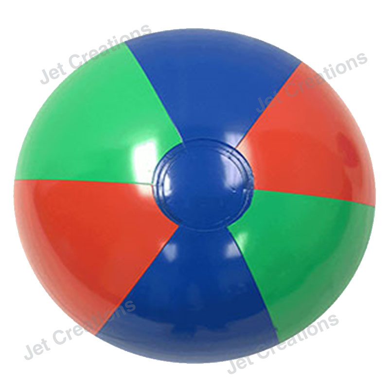 Wholesale Inflatable High Quality Red Green Blue PVC Beach Ball for Export