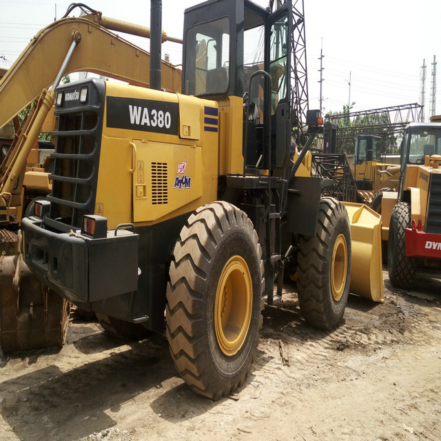 KOMATSU WA380-3 used wheel loader made in japan lg936l wheel loader in shanghai for sale