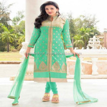 Latest Indian and Pakistani Wedding and Bridal Designer Long Straight Suits For Woman Wear Dress