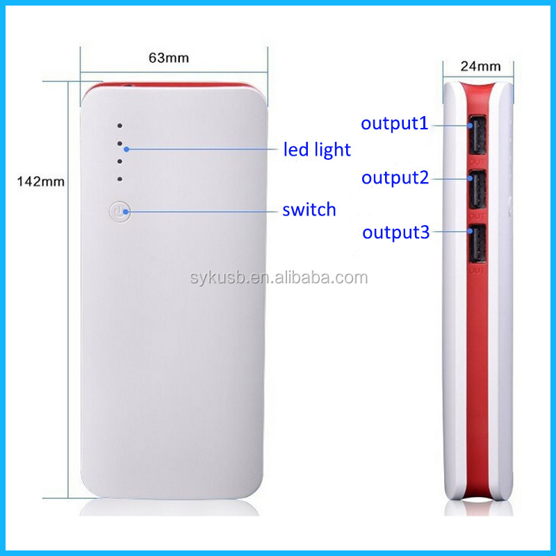 Top Quality ABS Material External Phone Charger with Factory Price