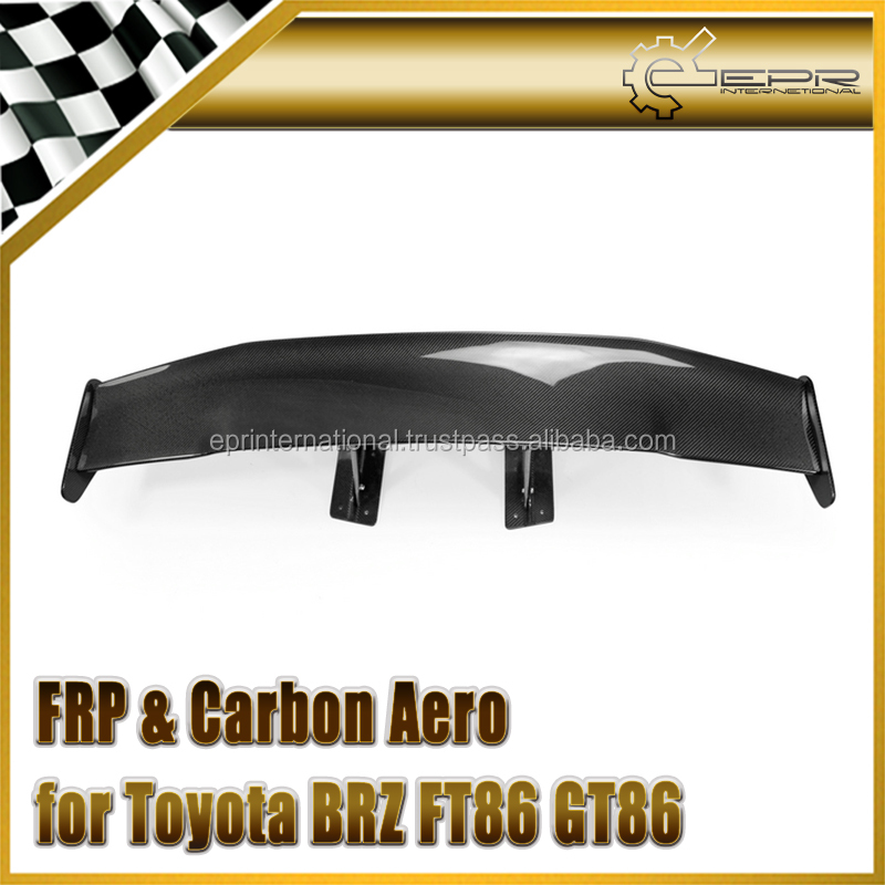 For BRZ FT86 GT86 FRS Varis (For street) GT CF Spoiler