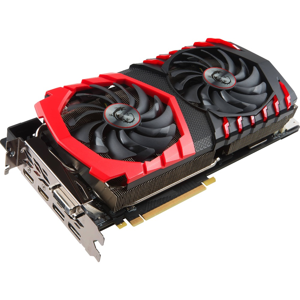 MSI RX 580 GAMING X 4G, 8G Radeon RX 580 GDDR5 4GB CrossFire VR Ready FinFET DirectX 12 Graphics Card