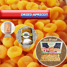 DRIED APRICOT - natural and sulphured