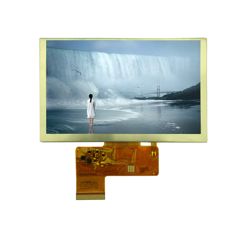 Specialized Colorful 5 inch Display monitor 800 x 480 color MIPI TFT LCD screen for Industrial Application