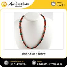 Certified Baltic Amber Women Necklace