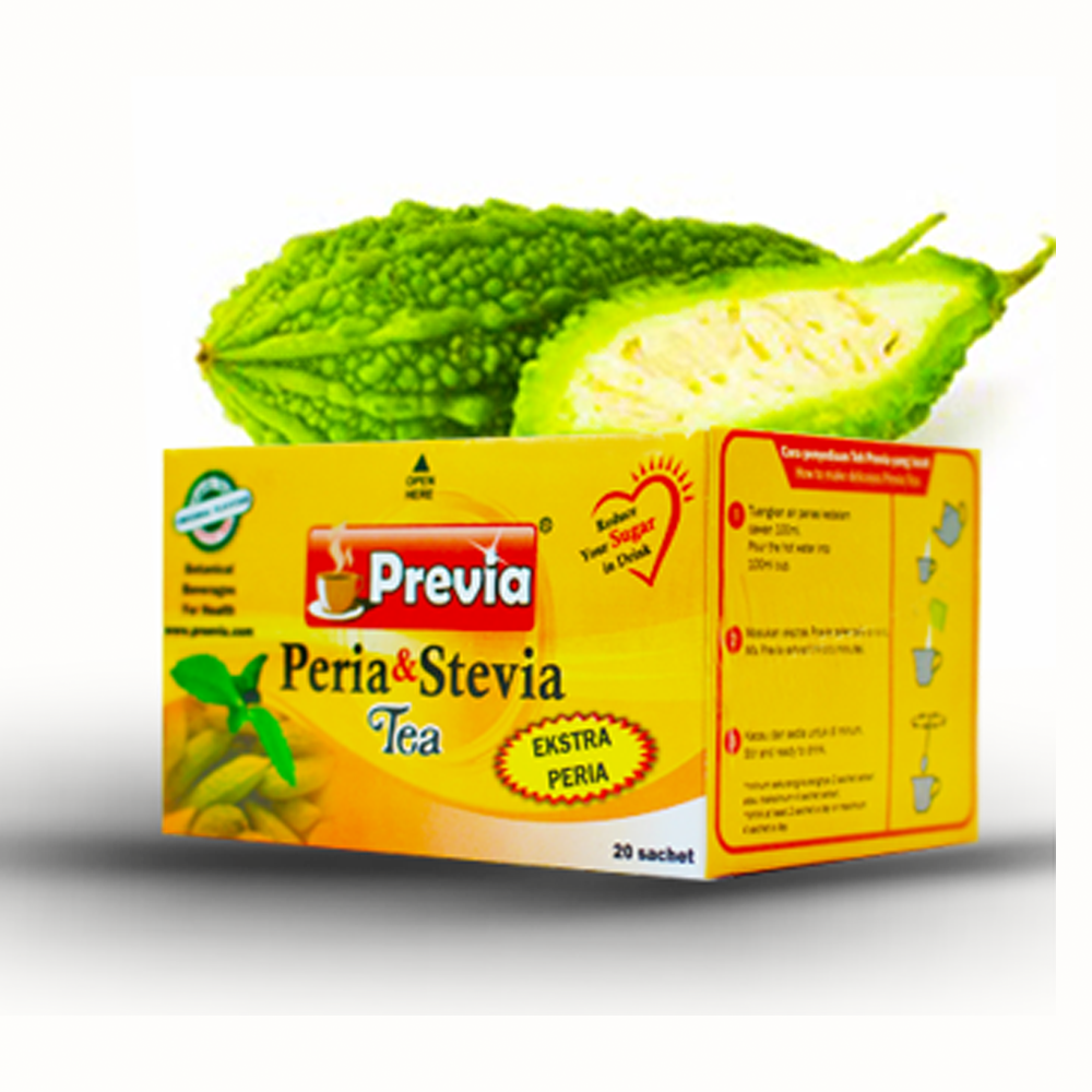 Bitter Gourd and Stevia Instant Herbal Tea Powder