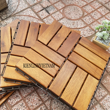 Swimming pool wood deck floor tiles cheap, dimension: 20x300x300 mm.