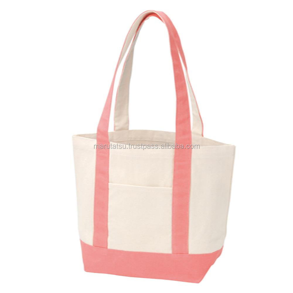 Reliable and Easy to use shopping bag foldable Canvas by color tote M at reasonable prices , small lot order available