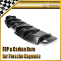 Carbon Fiber For Porsche Cayman Boxster 2006-2012 EPA Style Rear Bumper Bottom Diffuser Lip Body Exterior Kits