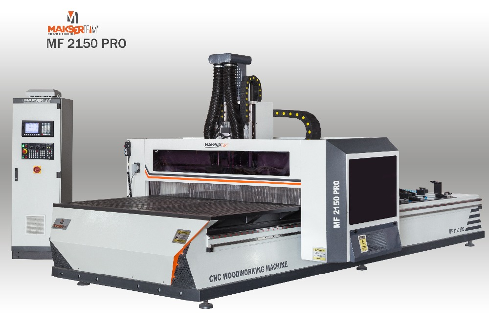 Cnc woodworking machine MF2150 STANDART with AGREGA Special design for Side processing / cnc router / cnc router machine
