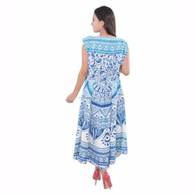 Indian kaftan 2016 moroccan kaftandress appliqued long sleeve chiffon mandala dress