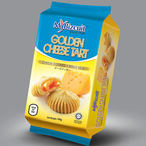 Halal Cheese Tart Snack Biscuit Cookies