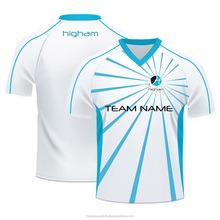 Promotion Cheap Dye Sub Custom Design Soccer Jersey Sublimation Print Football Shirt
