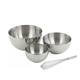 Stainless Steel Mixing Bowls Large Deep Colander