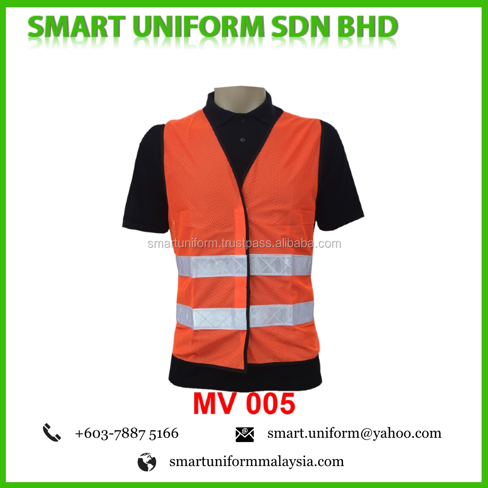 Safety Vest Netting with Reflector Tactical Mesh