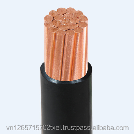copper conductor Low Voltage Cable 0.6/1kV (size 1x14sqmm) - Thipha Cable