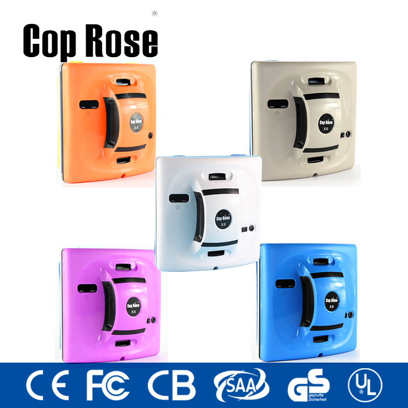 Cop Rose X6 automatic robotic window cleaner video, window cleaner drone, window washer <strong>reviews</strong>