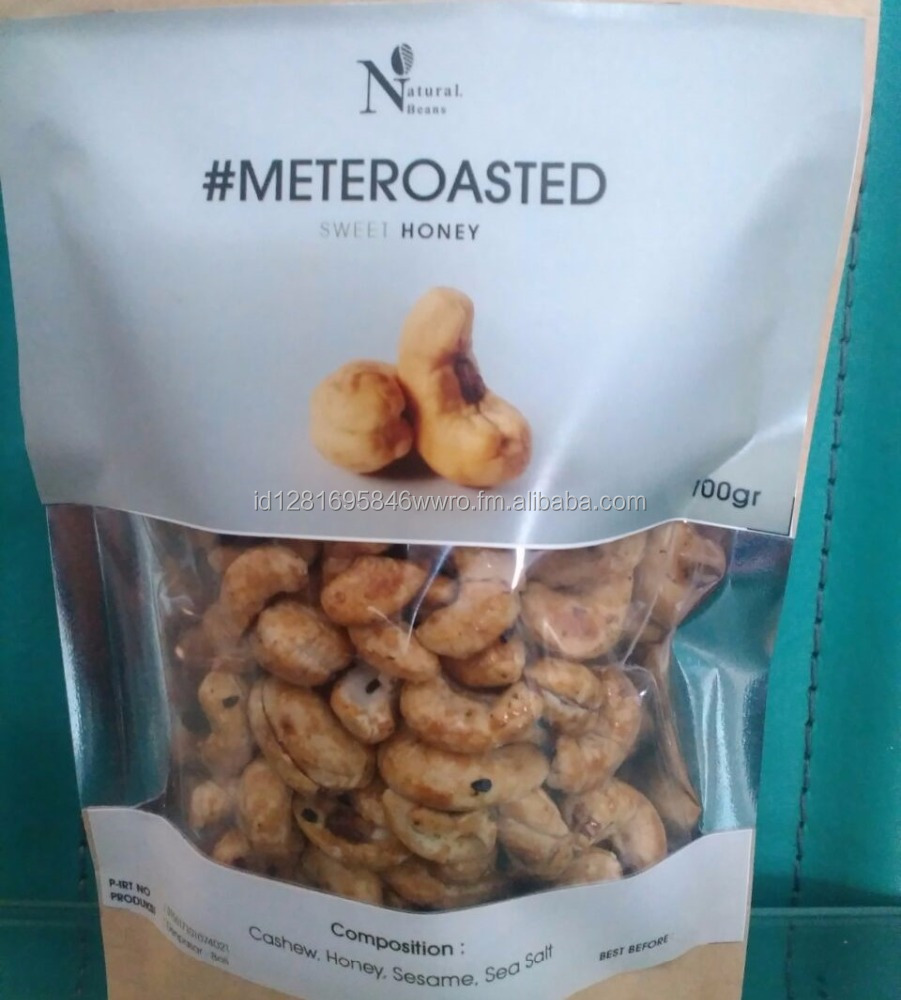 Natural Beans Roasted Cashew #MeteRoasted