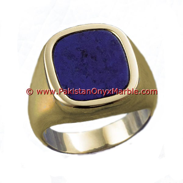 UNIQUE BLUE GEMSTONE FACTORY PRICE LAPIS LAZULI RINGS
