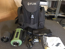 USED FLIR Scout TS32R 320x240 Night Vision Thermal Monocular Imaging System with 65mm Tested Good Condition