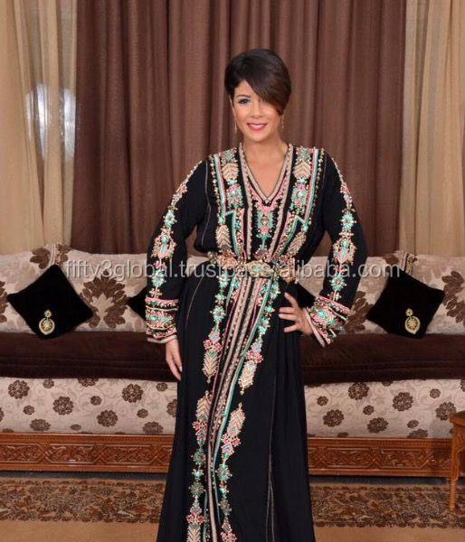 Dubai Fashion Beautiful Fancy Embroidery Maxi Dress, Jalabiya, Farasha Moroccan caftan kaftan